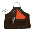 """Grill-N-Style Apron Tailgate Set - Barbecue set with 600 Denier 30"""" x 28"""" apron with six pockets, multi-use grilling tool, table topper, and meat thermometer."""