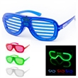 Shutter Shades LED  Glow Glasses Sunglasses - There is nothing cooler than flashing glasses. These glasses fit most in one comfortable size.