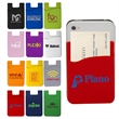 Econo Silicone Mobile Pocket - Silicone mobile pocket with adhesive backing.