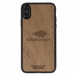 Mahogany Wood Phone Case X - Real wood iPhone® cases handcrafted with sustainable sourced Veneer.