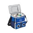 Sound Cooler - Cooler made of 600 Denier polyester. Complete with speakers for your MP3 player.
