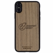 Walnut Wood Phone Case X - Real wood iPhone® cases handcrafted with sustainable sourced Veneer.