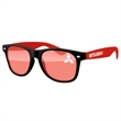 2-Tone Retro Sunglasses w/ 1-color imprint - Quality PC Retro sunglasses with tinted UV400 impact resistant PC lenses.