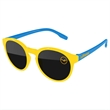 2-Tone Vicky Sunglasses w/ 1-color imprint - Quality PC Vicky sunglasses with dark UV400 impact resistant PC lenses.