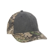 Outdoor Cap Camo Cap with Pigment-Dyed Twill Front - Pigment Dyed Front Cap