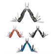 """Spitfire Multi-function Mini-tool - Multi-function tool that measures 2 1/2"""" when closed with spring action stainless plier jaws and other implements"""