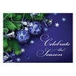 Ornaments and Bells Holiday Greeting Card