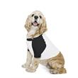 American Apparel Dog Poly/Cotton Three-Quarter Sleeve Rag... - Dog Poly/Cotton Three-Quarter Sleeve Raglan T-Shirt