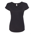 Anvil Women's Triblend V-Neck T-Shirt - Anvil® Women's Triblend V-Neck T-Shirt, blank.