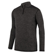 Augusta Sportswear Youth Intensify Black Heather Quarter-... - Youth Intensify Black Heather Quarter-Zip Pullover