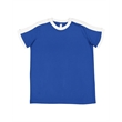 LAT Youth Retro Ringer Fine Jersey Tee - Youth Soccer Ringer Tee