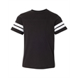 LAT Youth Football Fine Jersey Tee - LAT Vintage Youth Football T-Shirt, blank.