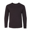 LAT Youth Fine Jersey Long Sleeve Tee - Short sleeve 6.0 oz. 100% cotton tall twill shirt.
