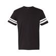 LAT Adult Football Fine Jersey Tee - LAT Vintage Football T-Shirt, blank.