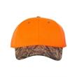 Outdoor Cap Blaze Crown Cap with Camo Visor - Outdoor Cap Blaze Crown Camo Visor Cap, blank.