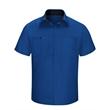 Red Kap Men's Performance Plus Short Sleeve Shop Shirt wi... - Men's Performance Plus Short Sleeve Shop Shirt with Oilbl...