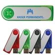 Salem USB Flash Drive (Overseas) - Colorful transparent USB flash drives with a swivel closure