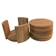 Bamboo Coaster Set - Bamboo Coaster Set