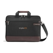 Samsonite Kombi Slim Brief - Samsonite briefcase with multiple pockets, laptop pocket and adjustable, removable shoulder strap.