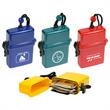 Waterproof Storage Case - Waterproof storage case with rugged lanyard.