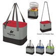 "Recess Cooler Lunch Bag - 9 1/2"" x 7 1/4"" x 6"" lunch bag made of 600 denier polyester with foil laminated PE foam insulation and 18"" handles"