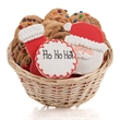 Christmas Cookie Gift Basket - Baskets packed with our classic cookies and 3 of our famous hand-iced sugar cookies.