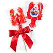 Lobster Pops - Hard candy lollipop in shape of lobster- individually wrapped