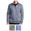 Sport-Tek PosiCharge Electric Heather Fleece 1/4-Zip Pull... - 100% polyester 1/4 zip pullover with PosiCharge and moisture-wicking technology.