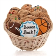 Bounce Back Soon! Cookie Gift Basket - Baskets packed with our classic cookies and 3 of our famous hand-iced sugar cookies.
