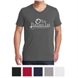 Gildan Softstyle® V-Neck T-Shirt - Gildan v-neck t-shirt with taped neck and shoulders, double-needle sleeves and hem, rolled forward shoulders and tear-away label.