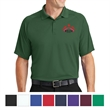 Sport-Tek Dry Zone Raglan Polo - Raglan polo made of 100% polyester with a flat-knit collar and double-needle stitching.