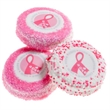 Pink Ribbon Oreos -Individually Wrapped - Chocolate covered Oreos with Pink Ribbon and matching sprinkles.