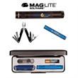 K3A Mag-Lite Solitaire & Multi-Function Tool Combo, FCD - Flashlight with lanyard and 11-in-1 multi-function tool, full color digital.
