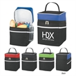 Deluxe Lunch Bag Kooler - Deluxe Lunch Bag Kooler Made of 600D Polycanvas Material Zippered Main Closure Large Front Pocket Two Side Mesh Pockets