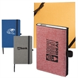 STRAND™ Snow Canvas Notebook and Executive Charger Gift Set - Snow Canvas Notebook and Executive Charger Gift Set.