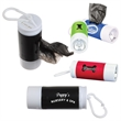 LED Doggy Bag Dispenser - Stay safe when walking your dog at night with this bone-shaped LED poop bag dispenser.