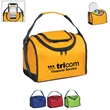 Flip Flap Insulated Lunch Bag - Insulated lunch bag with padded web carry handle. Made of 70 Denier Nylon.