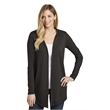 District Women's Perfect Tri Hooded Cardigan. - District Women's Perfect Tri Hooded Cardigan.