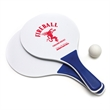 Paddle Ball Game - Beach paddle ball game. Includes two wooden paddles and 1 ball.