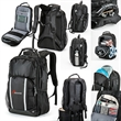 Basecamp® Everest Backpack - TSA friendly tech backpack with RFID blocking lining.