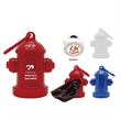 Fire Hydrant Pet Waste Bag Dispenser - A great giveaway for vet clinics, dog park events and pet-friendly events, These waste bag dispensers are perfect for pet lovers.