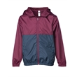 Independent Trading Co. Youth Lightweight Windbreaker Zip... - Youth Light Weight Windbreaker Zip Jacket