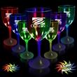 10 oz. Lighted LED Wine Glass