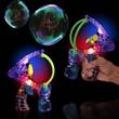 Super Duper LED Light Up Glow Bubble Gun