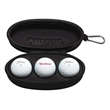 Titleist 3-Ball Sunglass Case - Three-ball, Titleist™ sunglasses case includes three DT TruSoft® golf balls.