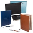 Tuscany™ Creative Notetaker/Organizer Combo - Our exclusive product. Combo includes Zip File Folder, Large Journal, and Executive Pen in matching colors.