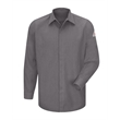 Bulwark Concealed-Gripper Pocketless Long Sleeve Shirt - ... - Concealed-Gripper Pocketless Long Sleeve Shirt - CoolTouc...