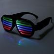 Sound Sensitive Light Up Glasses - Sound Sensitive Light Up Glasses