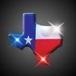 Imprinted Texas Blinking Pin