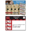 UV-Coated (1S) Postcard with Coupons (3 Count) - 5x3.5 - UV-Coated (1S) Postcard with Coupons (3 Count) - 5x3.5